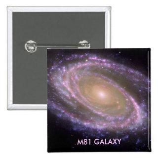 M81 GALAXY PINBACK BUTTON