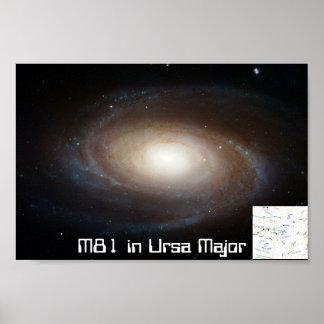 M81in Ursa Major - poster