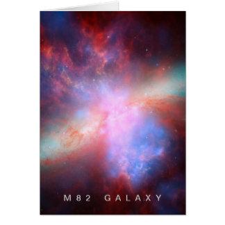 M82 Galaxy Card