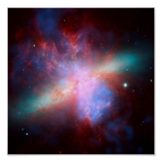 M82 Galaxy Posters