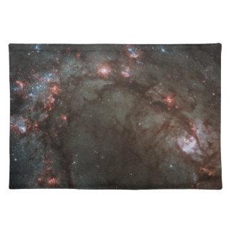 M83 galaxy cloth placemat