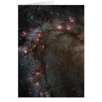 M83 Spiral Galaxy NASA Card
