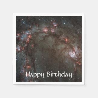 M83 Spiral Galaxy NASA Paper Napkin
