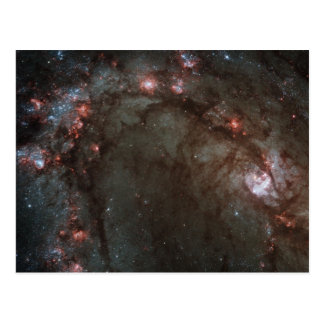 M83 Spiral Galaxy NASA Postcard