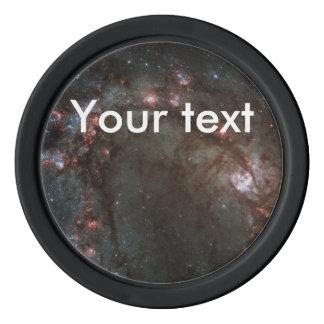 M83 Spiral galaxy Poker Chips