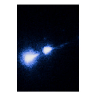 M87 Nucleus and Bright Knot - STIS. Poster