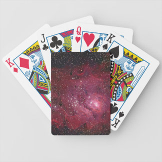 M8 Lagoon Nebula NGC 6523 Bicycle Playing Cards