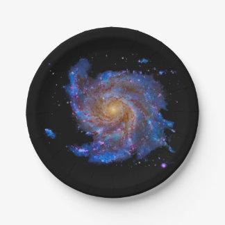 M 100 Galaxy Paper Plate