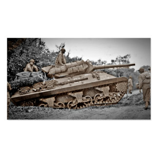 M-10 Tank Destroyer WWII Business Cards