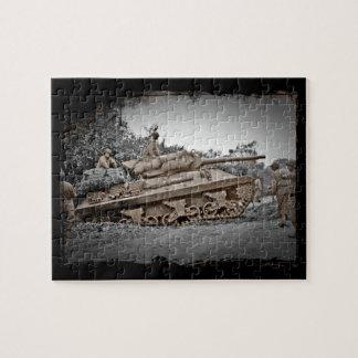 M-10 Tank Destroyer WWII Jigsaw Puzzle