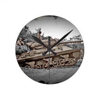 M-10 Tank Destroyer WWII Round Clock
