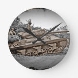 M-10 Tank Destroyer WWII Wallclocks