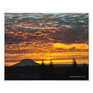 m #13 el Monte Rainier y su sombra Arte Con Fotos