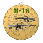 M-16 TABLERO DE DARDOS