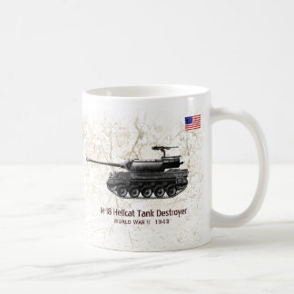 M-18 Hellcat Tank Destroyer-tank Coffee Mug