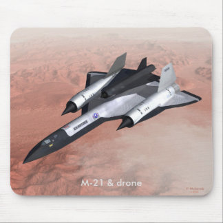 M-21 & drone mouse pad