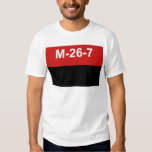 M-26-7 bandera - Bandera del Movimiento 26 de Camisas