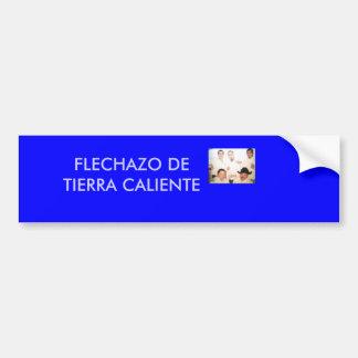 m_2a2beb27051d40418c5221d0d9bce975, FLECHAZO DE... Car Bumper Sticker