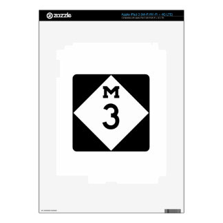 M-3, Michigan, USA Skin For iPad 3