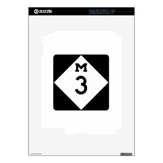 M-3, Michigan, USA Skins For The iPad 2