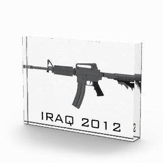 M-4 Rifle Acrylic Award