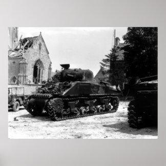 M-4 Sherman Póster