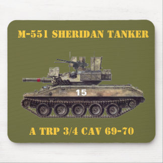 M-551 Tankers Mouse Pad