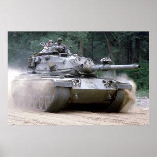 M-60 Patton Poster