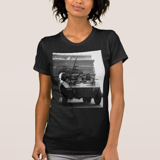 M-8 Greyhound Armoured Scout Car World War II T-Shirt