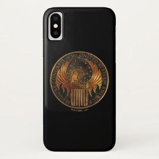 M.A.C.U.S.A. Medallion iPhone X Case