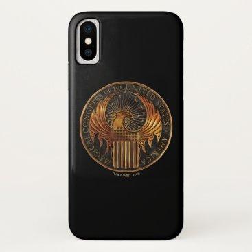 USA Themed M.A.C.U.S.A. Medallion iPhone X Case