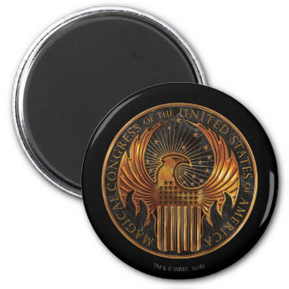 M.A.C.U.S.A. Medallion Magnet