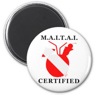 M.A.I.T.A.I. Certified 2 Inch Round Magnet
