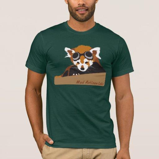 M.A.L. Gafas de la panda roja Playera