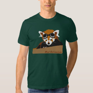 M.A.L. Red Panda Goggles Tee Shirt