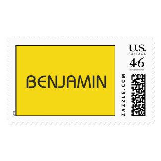 M__BENJAMIN logo.wpd Postage