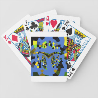 M Blue Bicycle Playing Cards