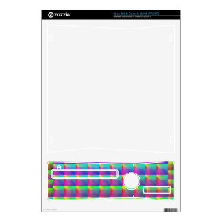 M/C/SQUARES Xbox 360 S Console (2010)  Skin Decal For The Xbox 360 S