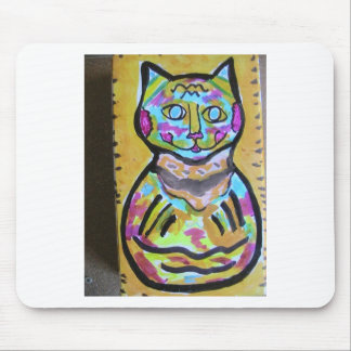 M-Cat of Hairball Alley Mouse Pad