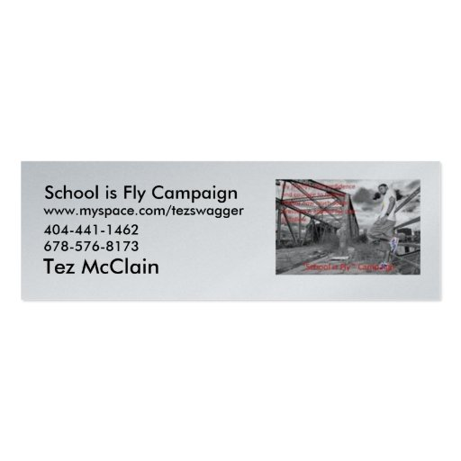 m_cecaf3d774c629bf1aacebf953b8aa70, School is F... Business Card Template
