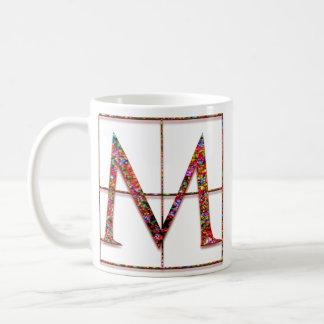 "M ""Celtic Bricks"" Custom Monogram Mugs"