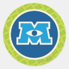 M Circle Logo Classic Round Sticker