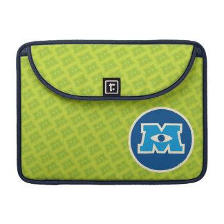 M Circle Logo Sleeve For MacBooks