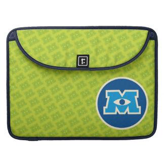 M Circle Logo MacBook Pro Sleeves