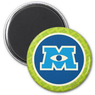 M Circle Logo Magnet