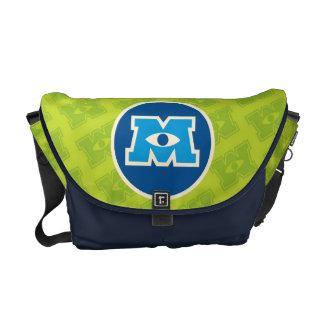 M Circle Logo Messenger Bag
