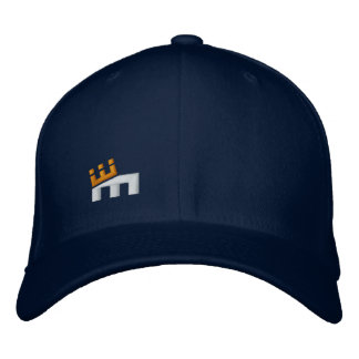 'M' Crown on front - CM text on back Embroidered Hat