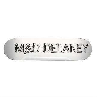 M&D Bare Wood Delaney Skateboard