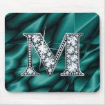 "M ""diamante Bling"" Mousepad Alfombrilla De Raton"