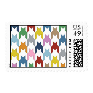 M Dog Tooth Stamps